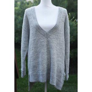 Zara Italian Yarn Oversized V Neck Sweater